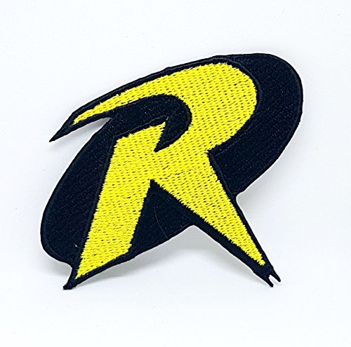 Batman & Robin Logo Crest Badge Eisen/Nähen auf bestickt Fancy Kleid Patch