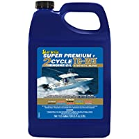 Starbrite Super Premium 2 Ciclo TC-W3 Fuoribordo Olio Motore 1 Gallone - Super One Gallon
