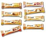 Inko Myline Riegel Mix-Box Protein Eiweiß L-Carnitin 24 x 40g (mindestens 6 verschiedene Geschmäcker gemischt)