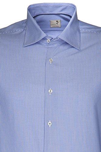 SCHWARZE ROSE by Seidensticker Slim Fit Office Hemd Blau