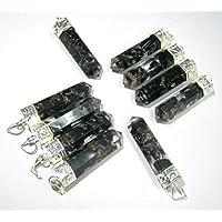 Hervorragende Viel Fifty schwarz Turmalin Energetische Pointer Anhänger Leistungsstark machen Crystal Healing... preisvergleich bei billige-tabletten.eu