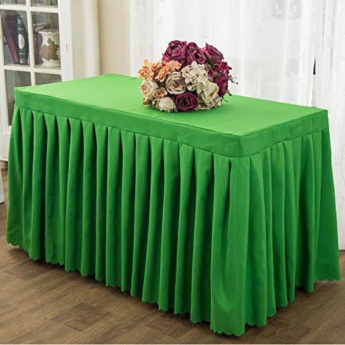 SKSK Green Bankett Konferenztischdecke Set Tischdecke Seite 140 × 180cm