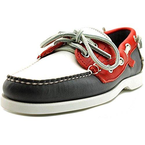 Polo Ralph Lauren US Thea Cuir Chaussure de Bateau Nv-W-Rd