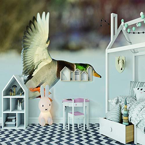 Fototapete wandbild Wasservögel Aufkleber Schlafzimmer Wohnzimmer Fernsehhintergrund Inneneinrichtung -
