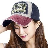 """Cappellino con visiera con scritta """"Motors racing team"""", ideale per proteggersi dal sole, per lo sport, per viaggiare, la spiaggia, il campeggio, le escursioni, il golf, la pesca e le passeggiate, Wine Red"""