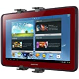 kwmobile Support appuie-tête pour tablette pour Samsung Galaxy Note 10.1 noir - appuie-tête support tablette voiture automobile