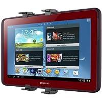 kwmobile Support appuie-tête pour tablette pour Samsung Galaxy Note 10.1 N8000 / N8010 noir - appuie-tête support tablette voiture automobile