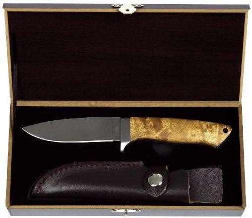 Haller cuchillo de caza , madera de raíz