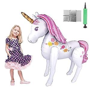 Tumao Unicornio Globos Grandes, Decoraciones