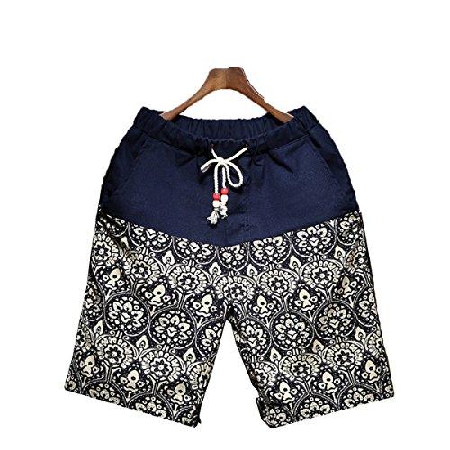 CHT Pantaloni Casual Nazionale Cotone Del Vento Degli Uomini Cinque Pantaloni Vacanza Al Mare 12