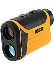 Lixada Télémètre Outdoor Compact 8X Télémètre Laser de Golf Détecteur Télémètre Mesureur Chasse Télescope Monoculaire Ecran LCD