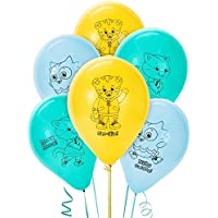 Daniel Tiger Party Supplies - Latex Balloons (6) by Unknown