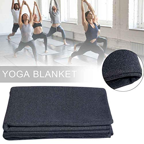 raspbery Yoga-Meditationsdecke, Wollmaterial Dicke Yoga-Decke – Robust und langlebig für Männer, Frauen, Kinder