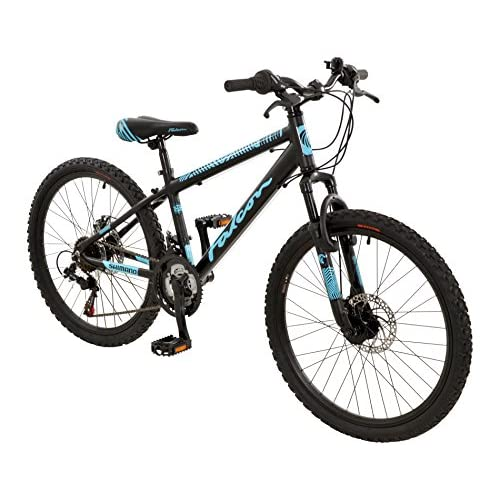 "51gH2NXeLCL. SS500  - Falcon 24"" Nitro Front Suspension BIKE - Disc Mountain Bicycle (Boys) in BLACK"