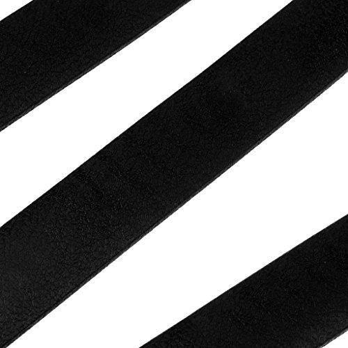 MagiDeal Par de Tiras de Parachoques con Cinta Autoadhesiva Blanco + Negro Artículos Accesorios Deportivo Acuático Actividades Aire Libre Cómodo de Usar