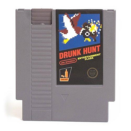 Ink-Whiskey / Drunk Hunt Videospiel Flachmann