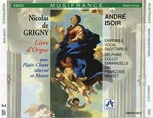 Nicolas de Grigny : Livre d'orgue