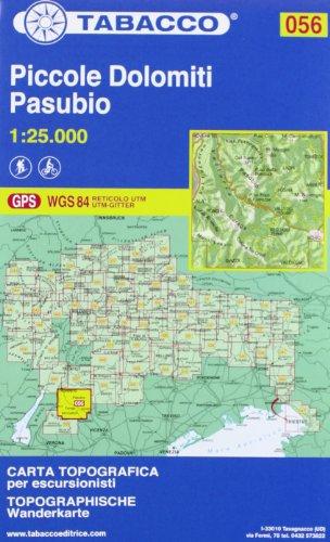 Piccole Dolomiti-Pasubio. 1:25.000 Ediz. italiana e tedesca