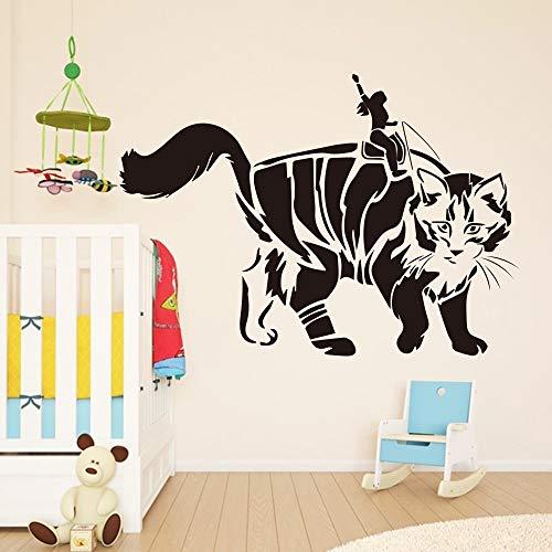 ob Vinyl Wandaufkleber Ausgangsdekor Für Schlafzimmer Kinderzimmer Dekoration Aufkleber Wandtattoo 43 * 45 cm ()