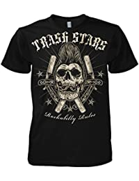 Rock Style Rockabilly Rules 702177 T-Shirt