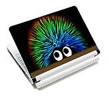 Luxburg® Design Aufkleber Schutzfolie Skin Sticker für Notebook Laptop 10