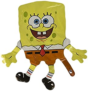 D&M Spongeboba - Mini Forma de Globo (1 CT) (1 por Paquete)