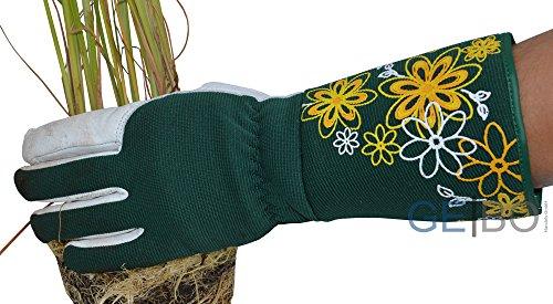 Rosenhandschuhe Größe 9 - Frauen - Gartenhandschuhe Leder