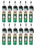 Den Braven SOS Fugenfüller 200 ml, Reparaturspachtel, regen und wetterresistent, hochwertiger Fertigspachtel Made in Germany, 12 Stück im Karton, weiß, 4016960014984