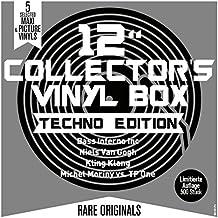 "12"""" Collector's Vinyl Box - Techno Edition [Vinyl LP]"