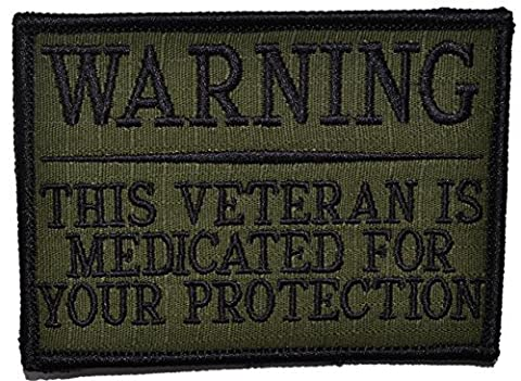 Tactical Gear Junkie WARNING: This Veteran is Medicated for Your