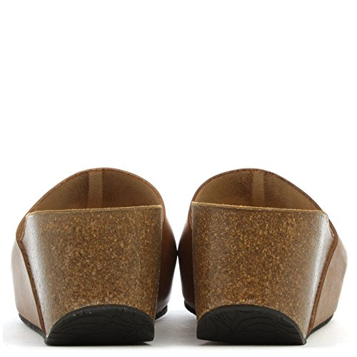 Mule De Coin Plain Daniel Tavernola Beige En Cuir Tan Leather