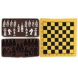 Sharplace Dynastie Krieg -Historisches Chinesisches Schachspiel Set mit 32 Schachfiguren - L