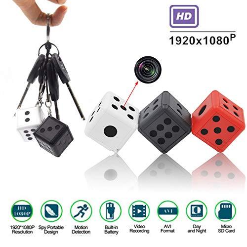 Springdoit-Mini-videocamera-1080P-HD-rilevatore-di-movimento-leggero-per-monitor-per-videocamera-portatile-Nero