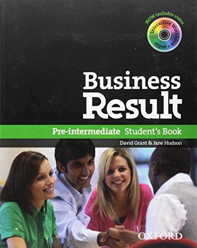 Business Result Pre-Intermediate. Student's Book + Online Workbook (+ DVD-Rom)