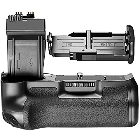 Neewer® BG-E8 Replacement Battery Grip for Canon EOS 550D/600D/650D/700D Rebel T2i/T3i/T4i/T5i SLR Camera, Works with 1 or 2 Pieces LP-E8 or 6 Pieces AA Batteries