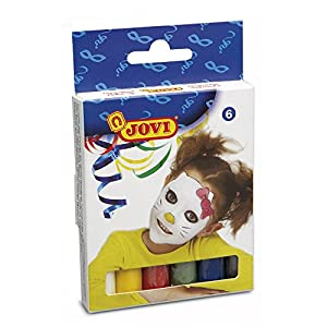 Jovi 441502 - Cajita 6 Barras Maquillaje Surt. 15 Gr.