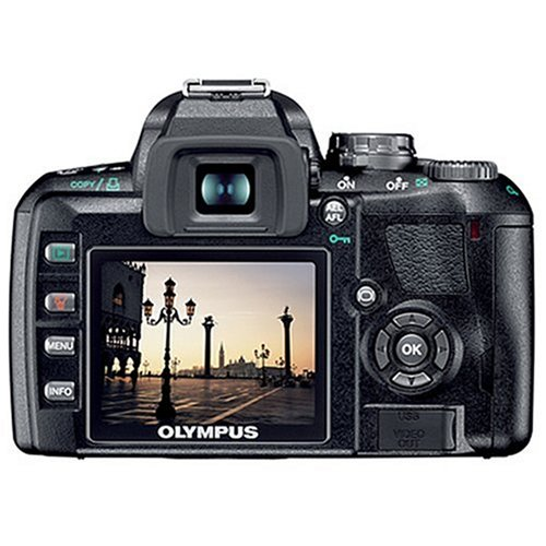 Olympus E-410 SLR-Digitalkamera (10 Megapixel, LifeView) Double Zoom Kit inkl. EZ1442 und EZ4015 - 2