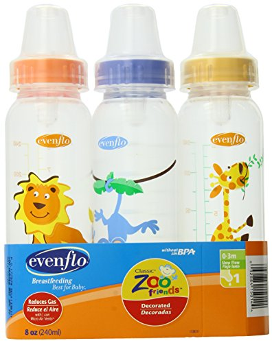 evenflo-zoo-friends-3-count-standard-nipple-bottle-8-ounce-colors-may-vary