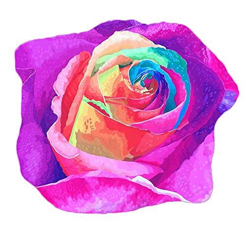 Sonnena Serviette de Plage Serviette De Plage Microfibre Serviette De Plage Pas Cher Voyage Piscine Bain Pique-Nique Drap Plage Tapis De Yoga (Violet)