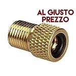 2-Adattatori-Universali-per-Valvole-Da-PRESTA-a-SCHRADER-specifici-per-Bici-da-Corsa-e-Mountain-Bike-Gonfia-con-il-compressore-o-la-Pompa-a-pedale-Made-in-Italy-AlGiustoPrezzo–