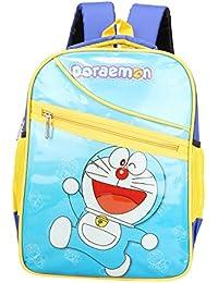 Aadhunik Libaas Doraemon Polyester School Bag, Travelling Bag, Carry Bag, Picnic Bag, Backpack For Kids Boy's...