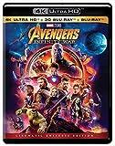 #6: Avengers: Infinity War - UHD 4K + 3D BD + BD