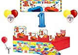 Best Elmo 1 - Partybyspursgrl Elmo 1St Birthday Party Pack & Balloon Review