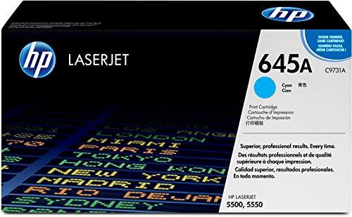 Preisvergleich Produktbild HP 645A (C9731A) Blau Original Toner für HP Color Laserjet 5500, HP Color Laserjet 5550