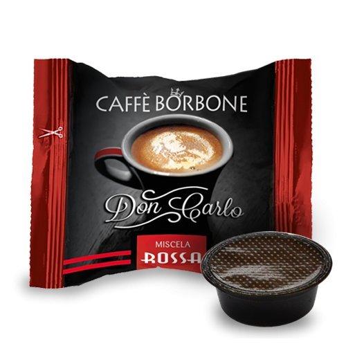 capsule caffè Borbone compatibili a modo mio miscela nera rossa blu oro dek pz. 50 100 200 300 400 500 (400, Miscela rossa)