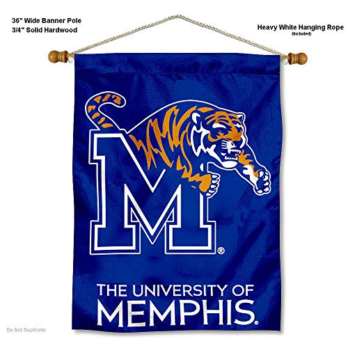 Memphis Tigers Wand Banner