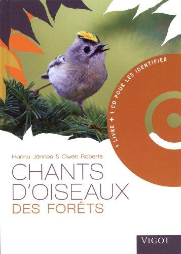 Chants d'oiseaux des forêts (1CD audio)