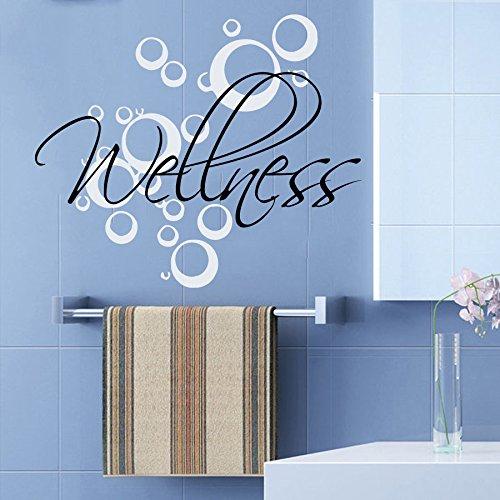 Preisvergleich Produktbild Wellness 60cm hochwertige UV-beständige Aufkleber,Sticker, für Auto,Wand,Laptop,Fliesen,Bad,Badezimmer,WC, und alle glatten Flächen aus Hochleistungsfolie ohne Hintergrund,