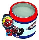 Diakakis 0500643 Licence Spiderman Orologio per bambini, in plastica, dimensioni: 7 x 7 x 7 cm, colore: Rosso