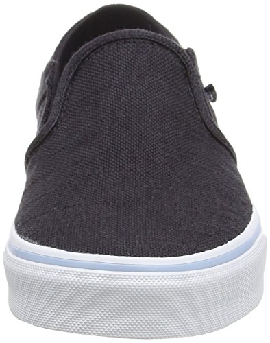 Vans Damen Asher Sneakers Blau (hemp/navy/floral)